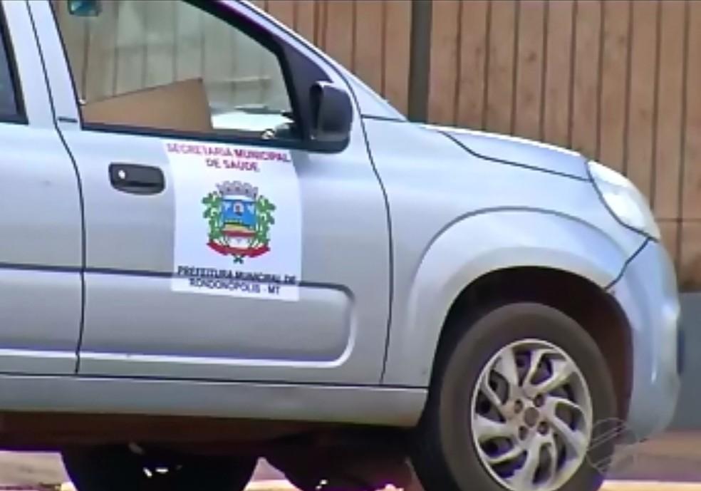 Carro oficial com documento vencido se envolve em acidente — Foto: Reprodução/TVCA