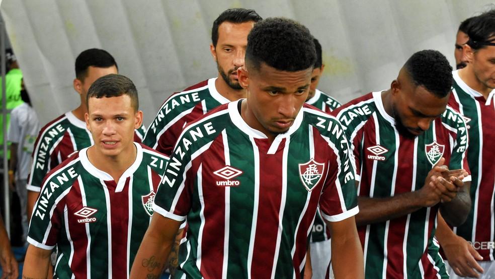 Marcos Paulo só entrou em um jogo do Fluminense em 2021 — Foto: Mailson Santana / Fluminense FC