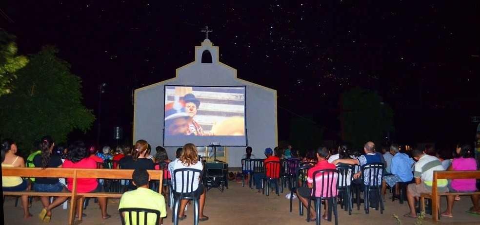 Sessão de cinema é aberta ao público (Foto: Divulgação)