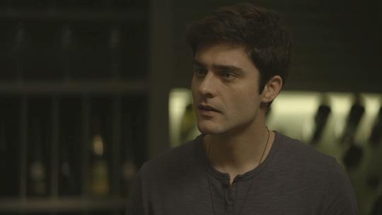 Leandro discute com Cássia