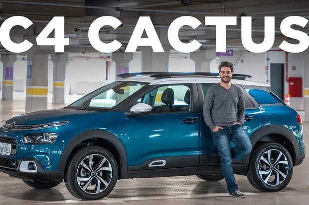 Vídeo: Citroën C4 Cactus (Foto: Autoesporte)
