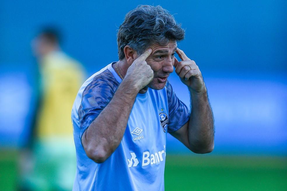 Renato tem ajustes a fazer durante a Copa (Foto: Lucas Uebel / Grêmio, DVG)
