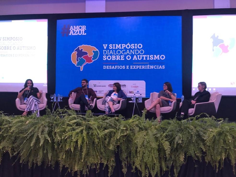 Terapia ocupacional é tema de palestra em simpósio sobre autismo em Natal — Foto: Divulgação