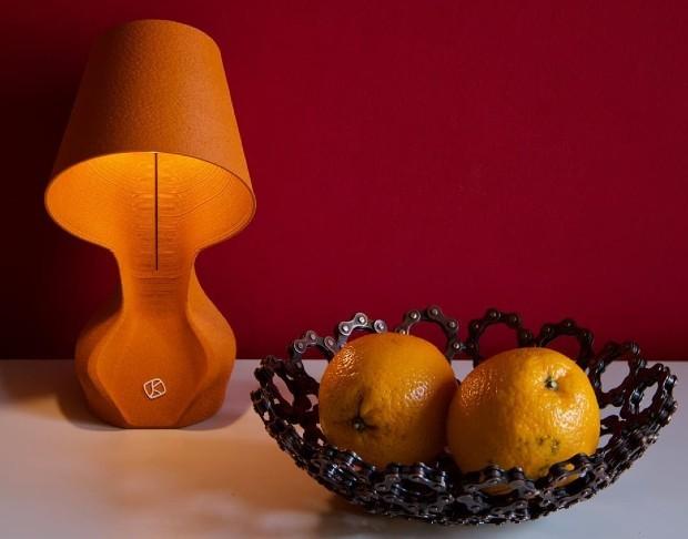 Lampada Arancione (Foto: Esposizione - Facebook)