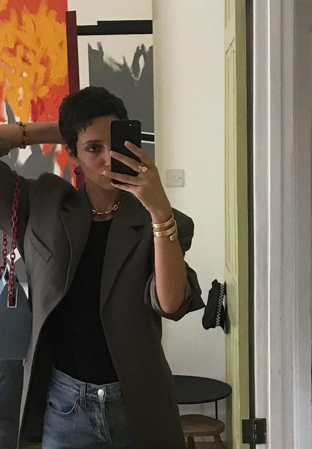 Yasmin Sewell e sua Takeout bag (Foto: Instagram Yasmin Sewell/ Reprodução)