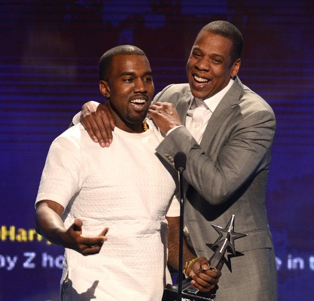 Jay Z e Kanye West (Foto: GettyImages)