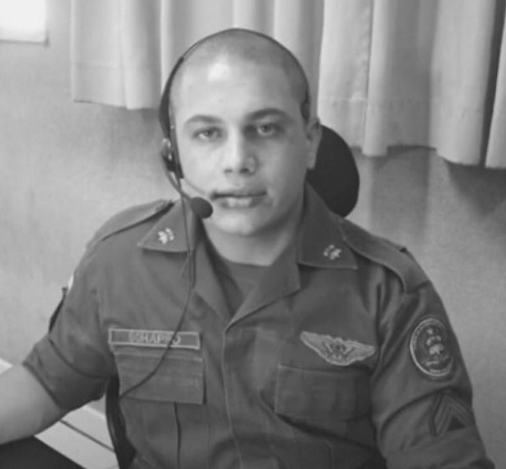 2º sargento Smaylin Willian Schappo — Foto: CBM/Divulgação