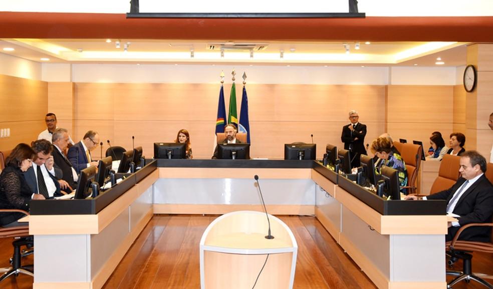 Sessão do Pleno do Tribunal de Contas de Pernambuco (Foto: Assessoria/Divulgação)