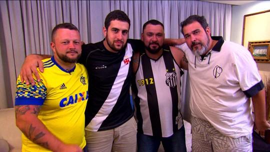 Treta, festa e zoação: fanáticos ficam confinados e veem juntos jogos da Libertadores