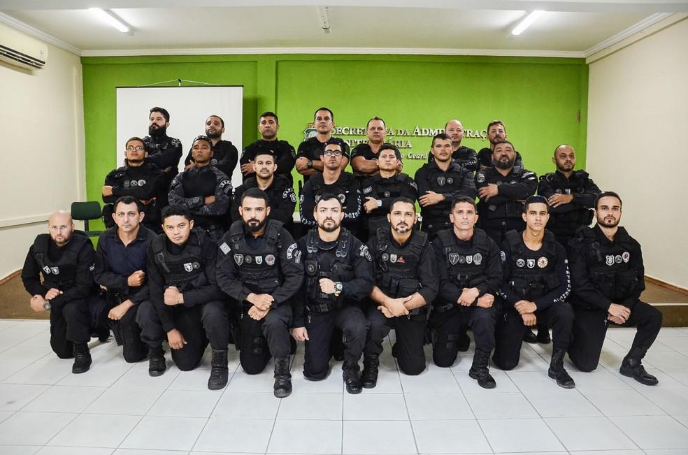 Todos os agentes escalados pertencem a força penitenciária estadual, segundo a SAP — Foto: Divulgação/SAP
