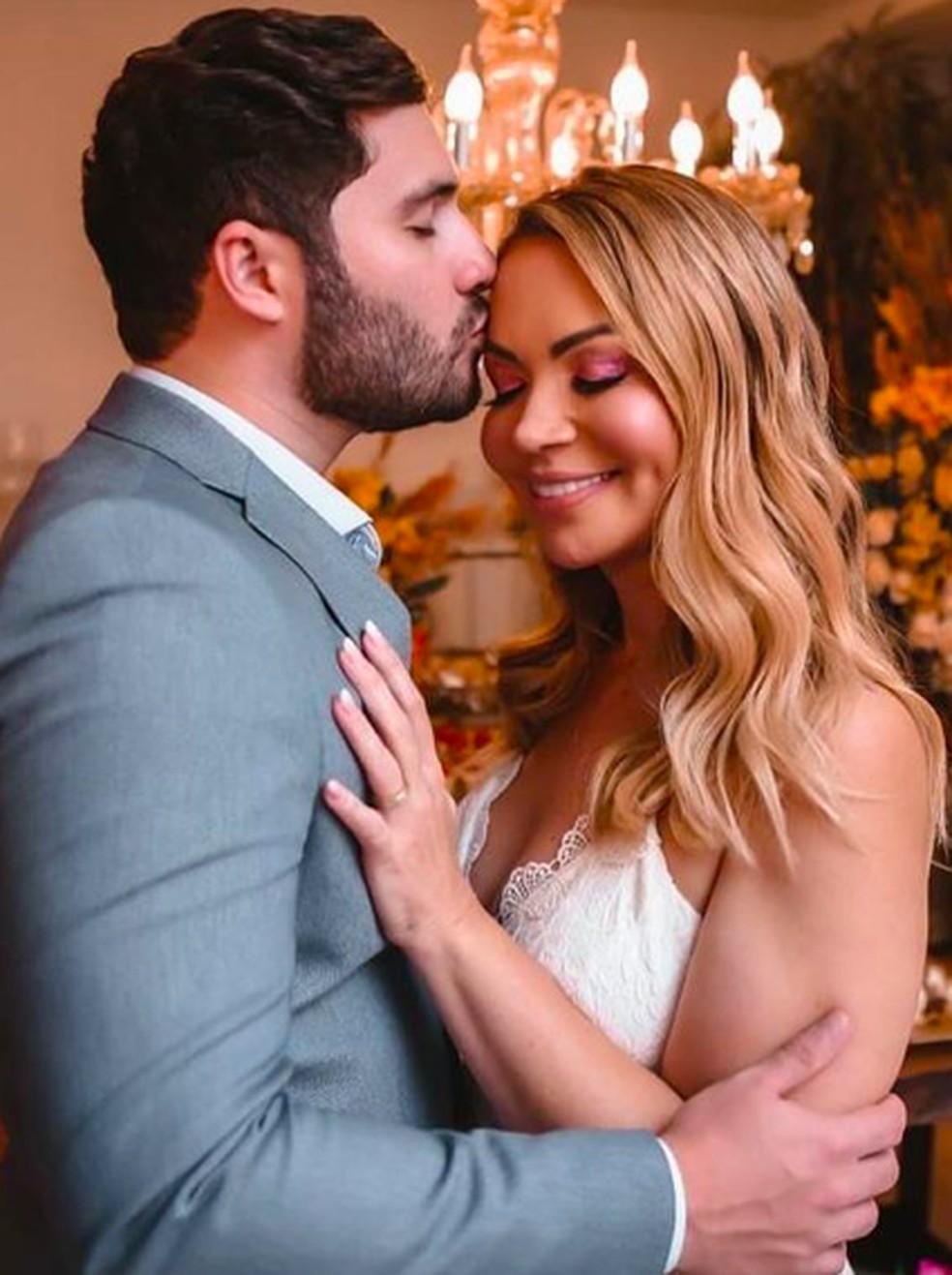 Sol e Monilton se casaram em segredo  — Foto: Reprodução/Instagram