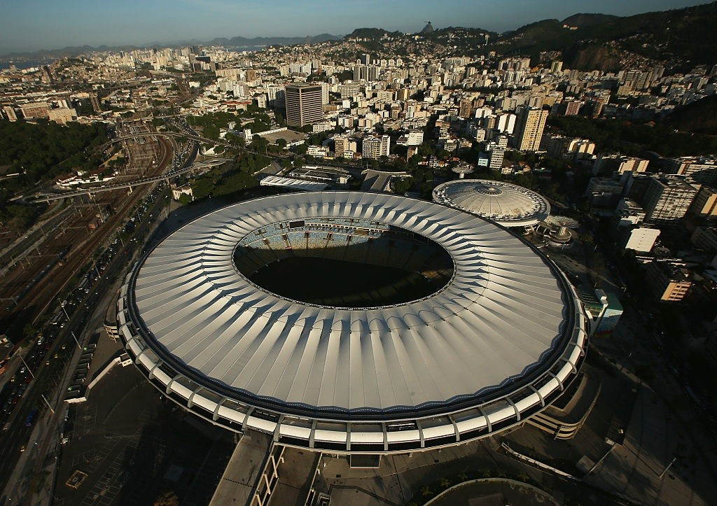 RIO DE JANEIRO, BRAZIL - FEBRUARY 24:  Maracana Stadium, a Rio 2016 Olympic Games venue, is shown on February 24, 2015 in Rio de Janeiro, Brazil. The city of Rio continues to prepare to host the upcoming Olympic Games which kickoff on August 5, 2016.  (Ph (Foto: Getty Images)