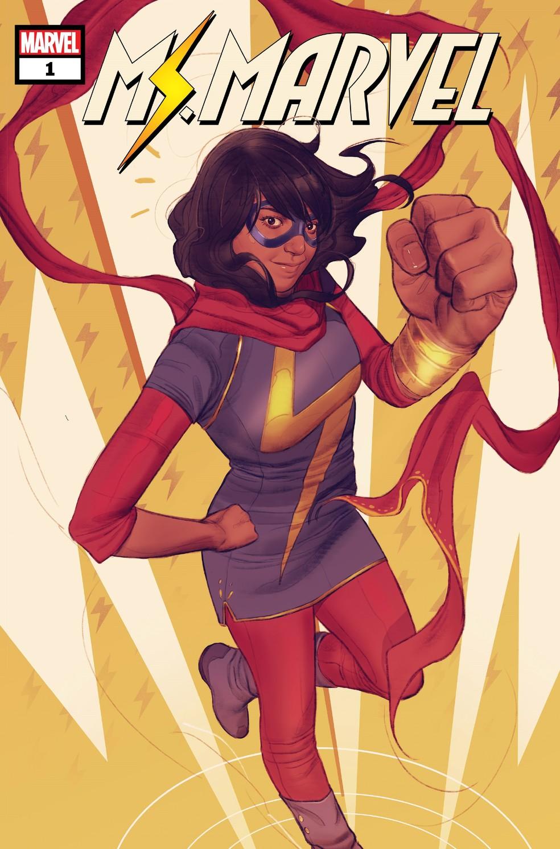 Miss Marvel é uma super heroína muçulmana — Foto: Divulgação / Marvel