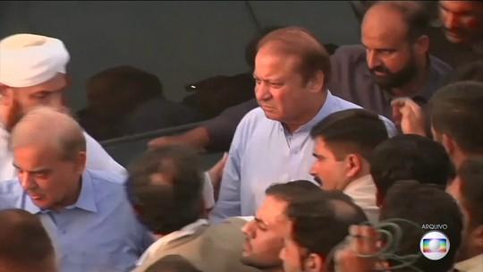 Tribunal paquistanês ordena libertação do ex-primeiro-ministro Nawaz Sharif
