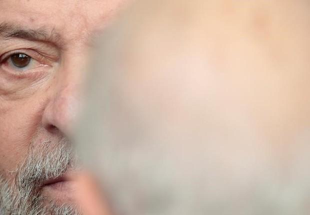 O ex-presidente Luiz Inácio Lula da Silva, em São Paulo (Foto: Leonardo Benassatto/Reuters)