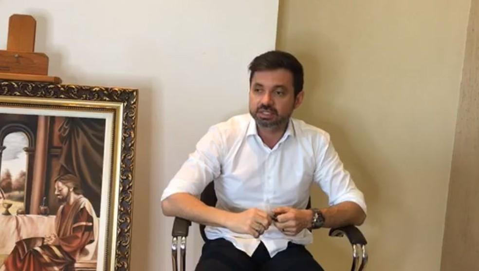 Edgar de Souza acredita que há jurisprudência que o manterá no cargo até o fim do processo — Foto: Facebook/Reprodução