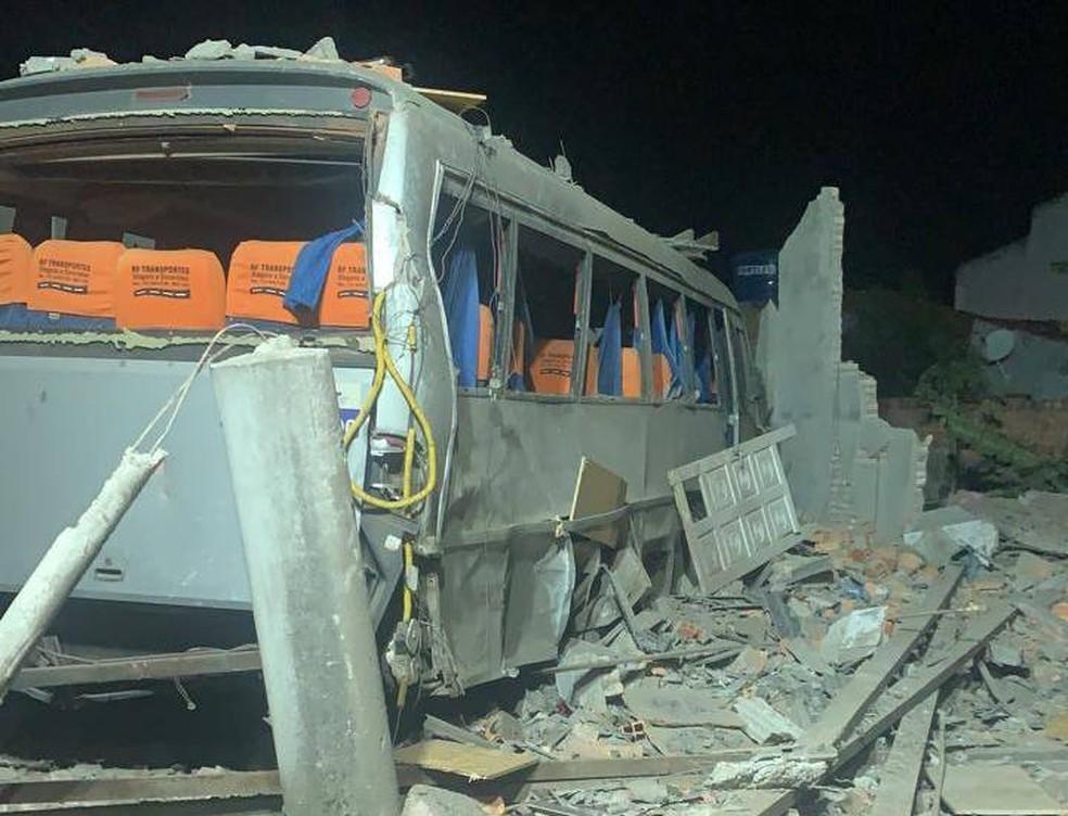 Dois morrem após explosão de casa de venda de fogos de artifício na Bahia; dono de estabelecimento é preso — Foto: Divulgação/Polícia Civil