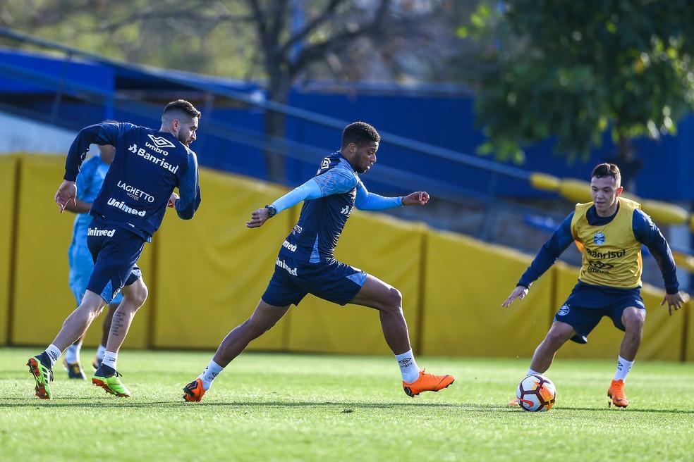 André já foi garantido por Renato no time (Foto: Lucas Uebel / Grêmio, DVG)