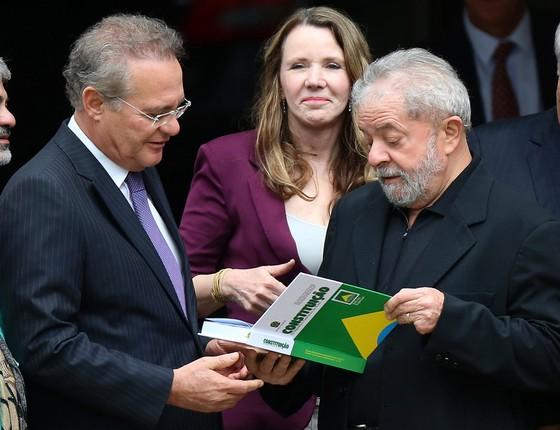 Lula e Renan Calheiros. (Foto: REUTERS/Ueslei Marcelino)