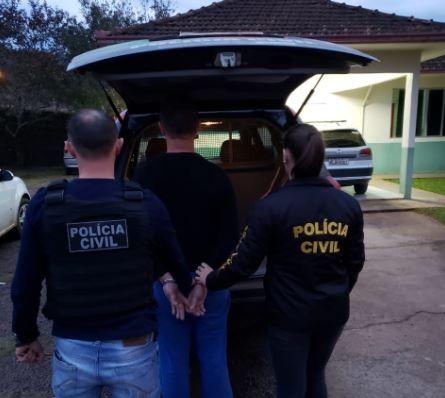 Homem é preso suspeito de provocar acidente que matou dois jovens em SC - Notícias - Plantão Diário