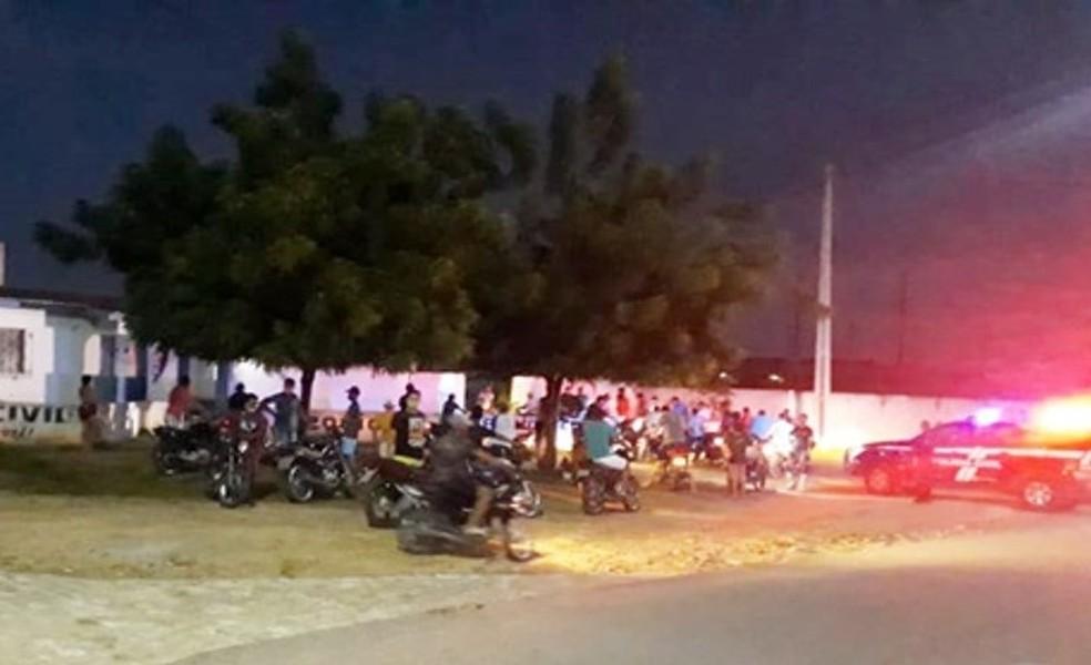 70 pessoas foram detidas por descumprir medidas de isolamento social no interior do RN — Foto: PM/Divulgação