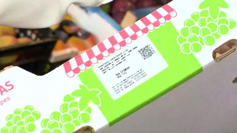 Etiquetas com informações de produto podem ser acessadas por celular, no ES