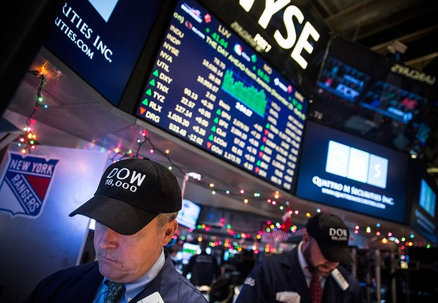 Índice Dow Jones (Foto:  Andrew Burton/Getty Images)