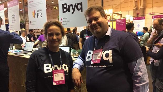Markellos Diorinos e Lydia Morazzani, fundadores da Bryq (Foto: Editora Globo)