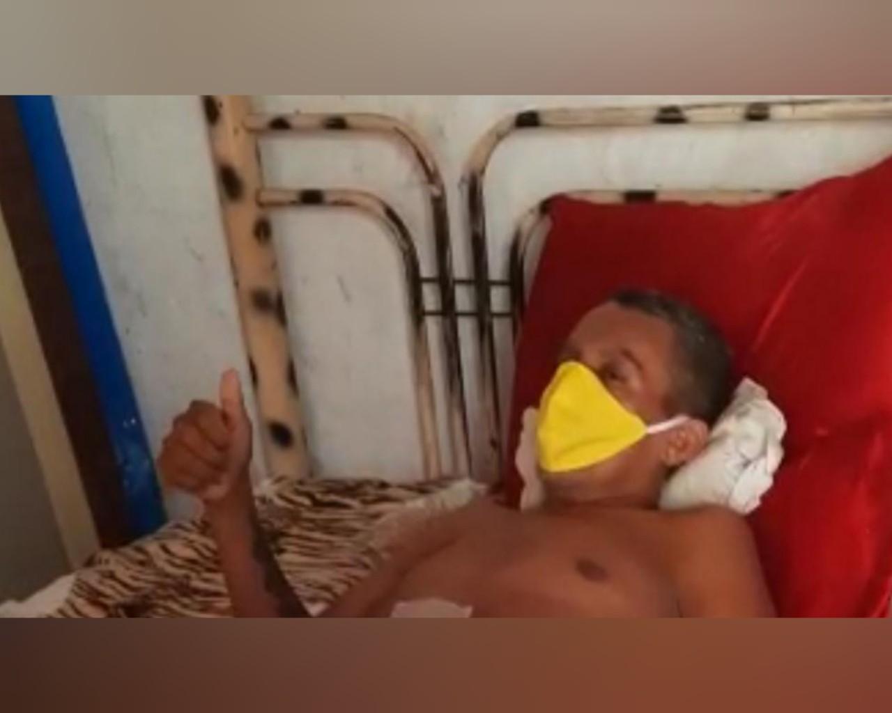Artista plástico vítima de tiro em Santarém tem complicações no pós-operatório e volta ao HMS