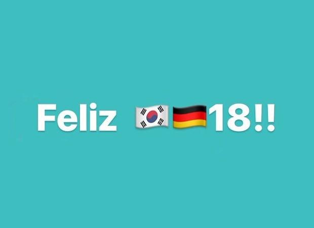 Vitória da Coreia do Sul sobre Alemanha rede memes nas redes sociais (Foto: Reprodução/Twitter)