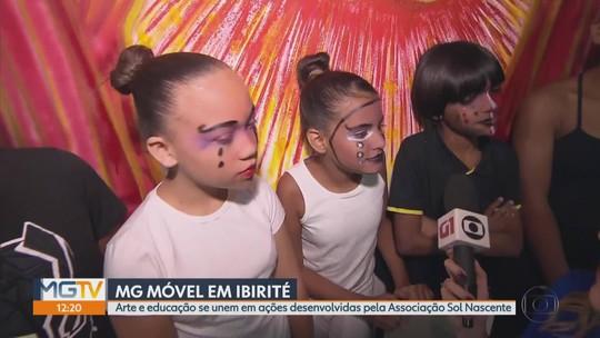 MG Móvel conhece a Associação Sol Nascente, em Ibirité