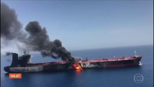 Preço internacional do petróleo sobe após ataque a dois petroleiros no Golfo de Omã