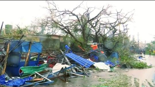 Cerca de 10 pessoas morreram na passagem do ciclone Fani, na Índia