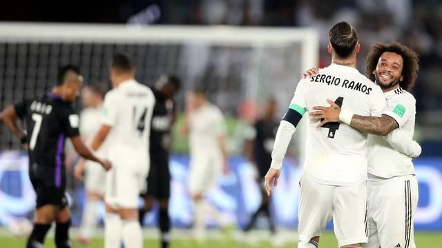 Sergio Ramos comemora com Marcelo