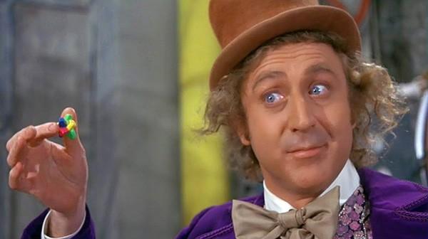 Gene Wilder em 'A Fantástica Fábrica de Chocolate' (1971) (Foto: Divulgação)