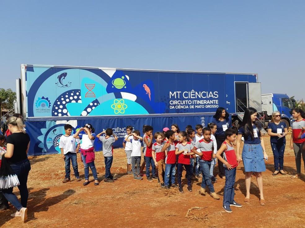 """""""Circuito itinerante"""" estará aberto ao público durante a 13ª Edição do Ribeirinho Cidadão — Foto: Secitec/Divulgação"""