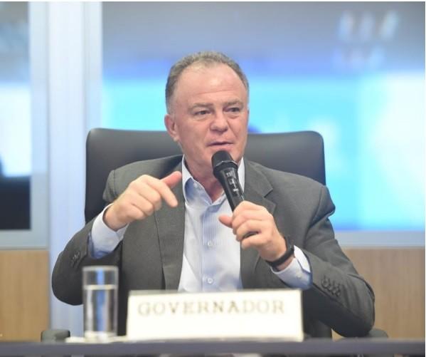 O governador Renato Casagrande