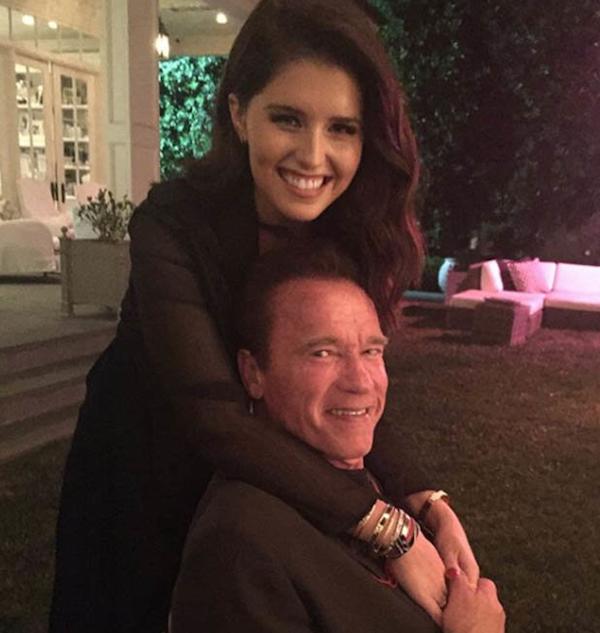 A modelo Katherine Schwarzenegger, filha de 28 anos do ator Arnold Schwarzenegger (Foto: Instagram)