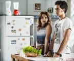 Bianca Salgueiro e Gabriel Falcão em cena | TV Globo