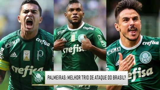 Melhor ataque do Brasil? Seleção SporTV analisa trio ofensivo do Palmeiras