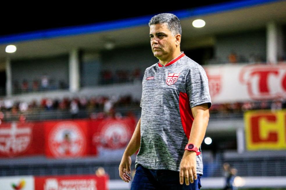 Marcelo Cabo chegou no CRB em outubro de 2019 — Foto: Ailton Cruz/Gazeta de Alagoas