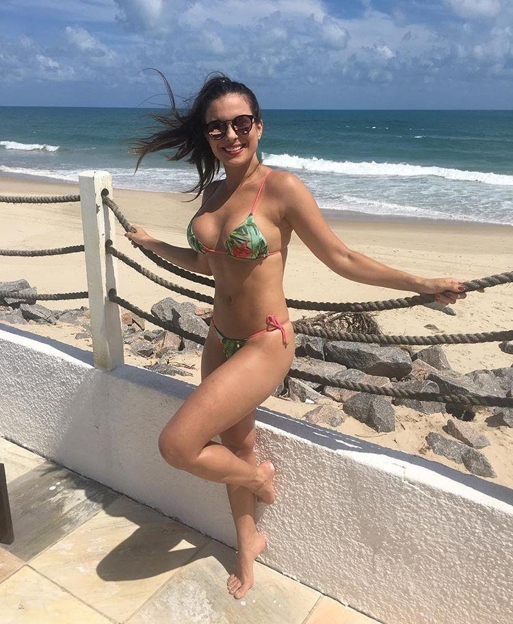 Kamilla Salgado em viagem a Fortaleza (Foto: Reprodução/Instagram)