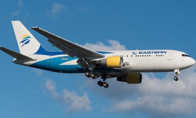 Avião da Easter Airlines