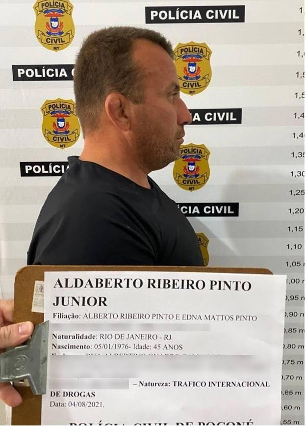Bombeiro do RJ é preso em MT suspeito de pilotar helicóptero encontrado com 300 kg de cocaína no Pantanal