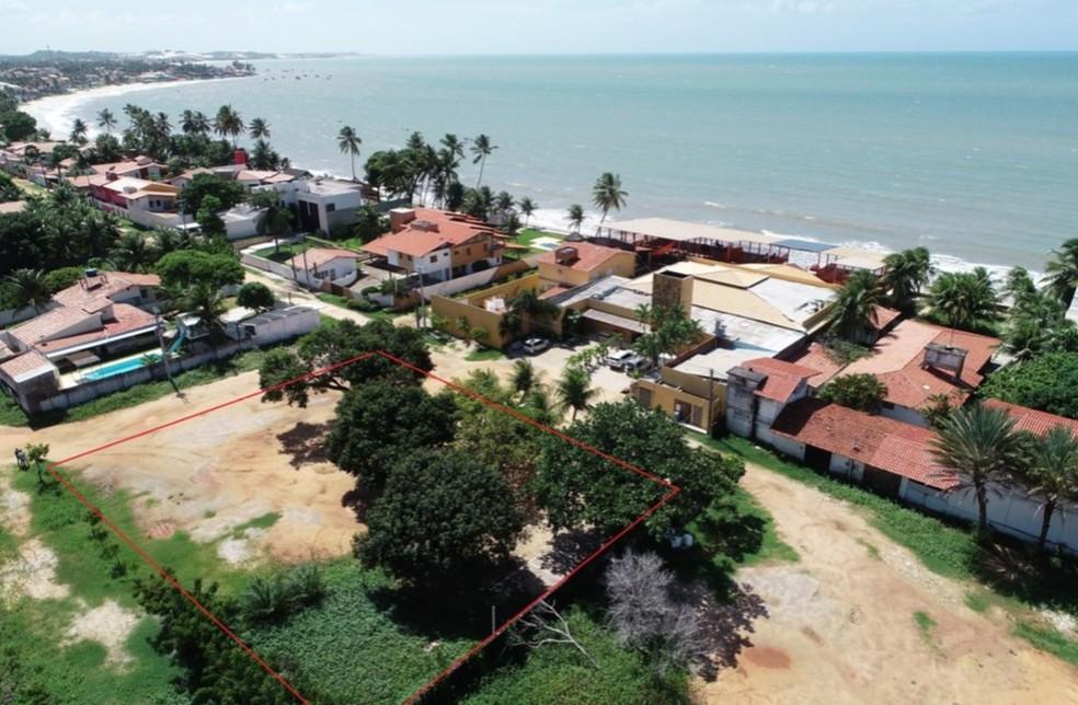 Juntas, as propriedades, localizadas em Natal e no município de Ceará Mirim, têm avaliação mínima de R$ 627 mil — Foto: Divulgação/SPU