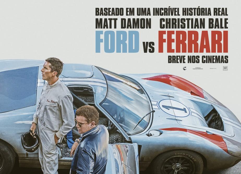 Ford Vs Ferrari Filme Sobre A Rivalidade Sera Lancado Em 2019