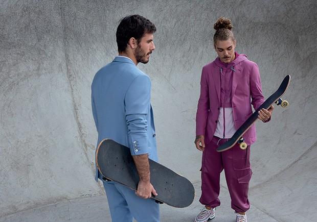 Streetstyle: Blazer, colete e calça preços sob consulta Ermenegildo Zegna  (Foto: Tauana Sofia)