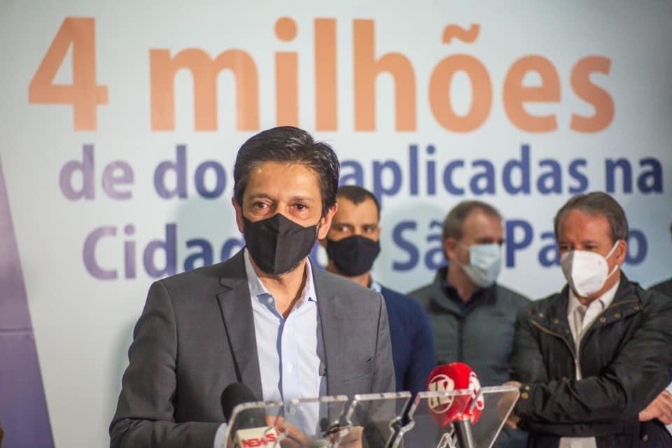 Ricardo Nunes diz que vai dar continuidade à gestão de Bruno Covas em 1ª agenda oficial como prefeito de SP