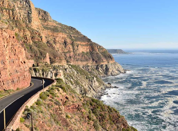 Chapmans Peak, na África do Sul (Foto: Thinkstock)