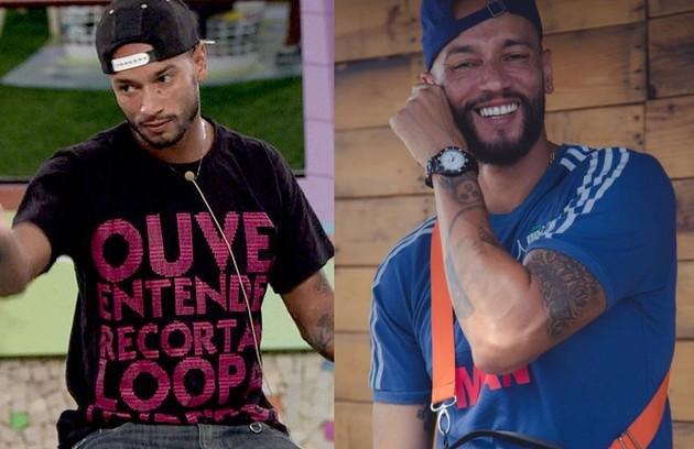 """O rapper Valter Slim, do """"BBB"""" 14, tentou ficar com Angela, affair de Junior e Marcelo, e Vanessa, namorada de Clara, que disparou que o brother era fura-olho. Hoje, ele ainda é músico (Foto: Reprodução)"""